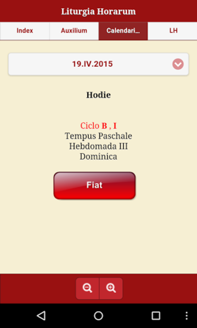 Liturgia Horarum Premium screenshot 2