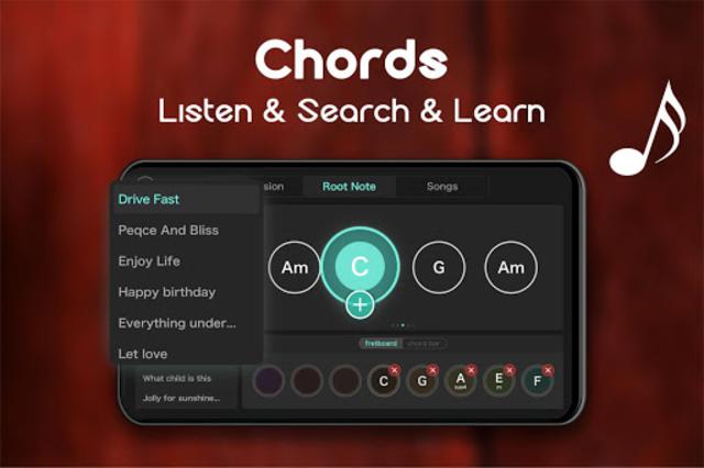 Real Guitar - Free Chords, Tabs & Music Tiles Game screenshot 7