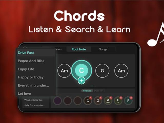 Real Guitar - Free Chords, Tabs & Music Tiles Game screenshot 15