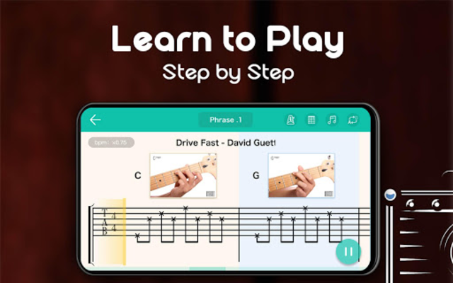 Real Guitar - Free Chords, Tabs & Music Tiles Game screenshot 24