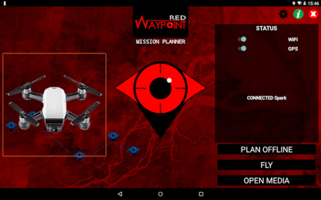 Red Waypoint PRO for DJI (Mavic / Spark / Phantom) screenshot 8