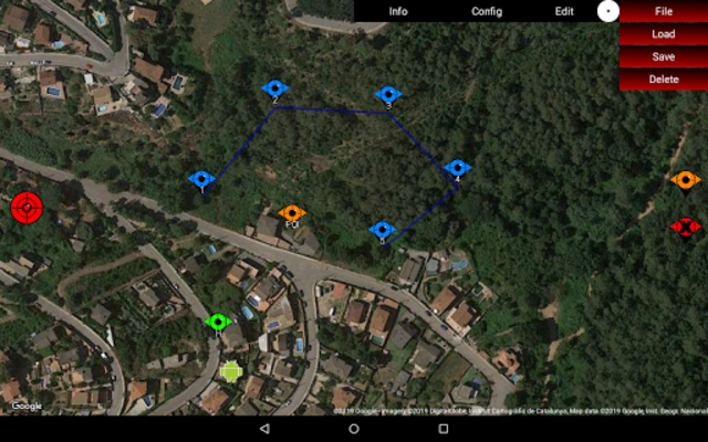 Red Waypoint PRO for DJI (Mavic / Spark / Phantom) screenshot 9