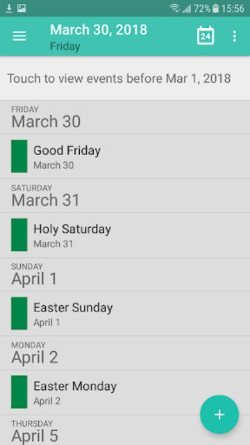 Calendar - Calendar 2019, Reminder, ToDos screenshot 2