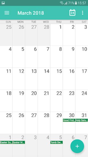 Calendar - Calendar 2019, Reminder, ToDos screenshot 3