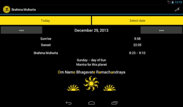 Brahma Muhurta screenshot 3