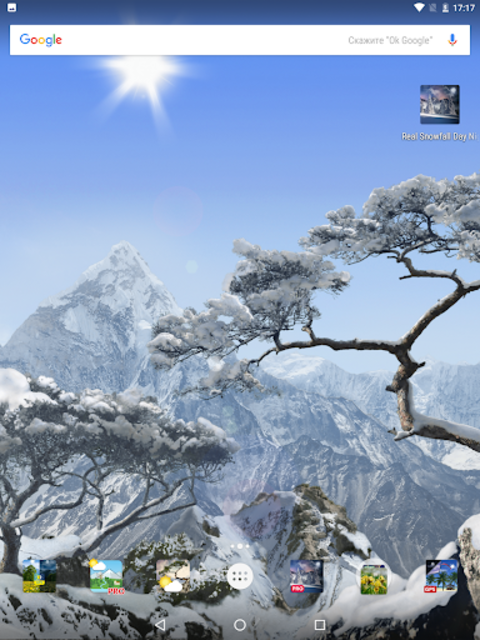 Realistic Weather All Seasons Live Wallpaper screenshot 12