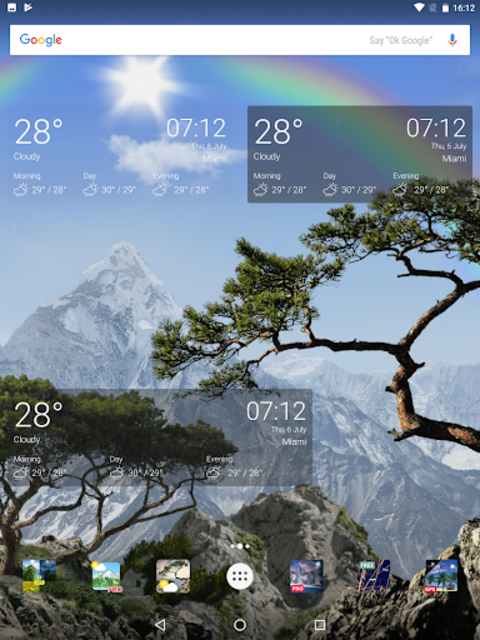 Realistic Weather All Seasons Live Wallpaper screenshot 17