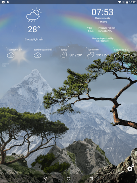 Realistic Weather All Seasons Live Wallpaper screenshot 22