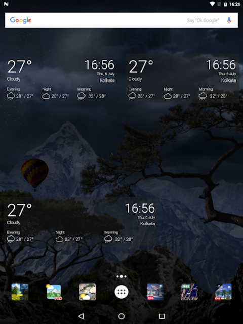 Realistic Weather All Seasons Live Wallpaper screenshot 23