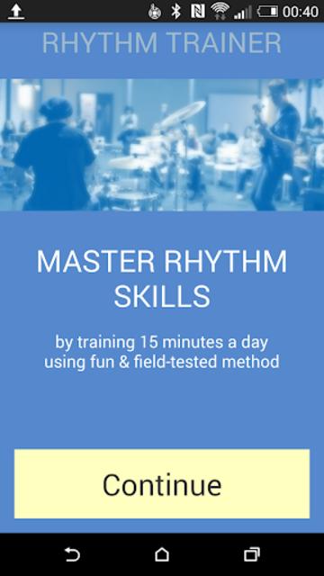 Rhythm Trainer screenshot 1