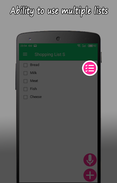 Shopping List S PRO screenshot 1
