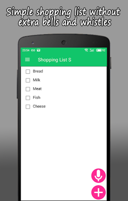 Shopping List S PRO screenshot 3