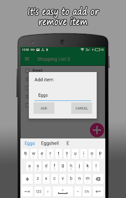 Shopping List S PRO screenshot 6