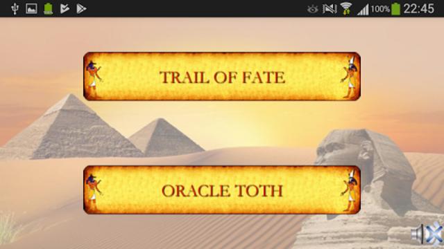 Egyptian divination screenshot 1