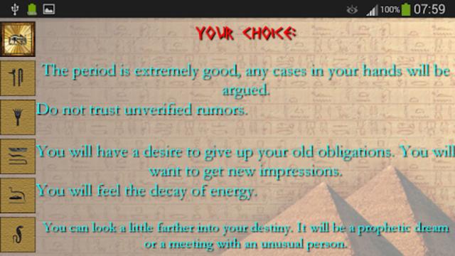 Egyptian divination screenshot 5