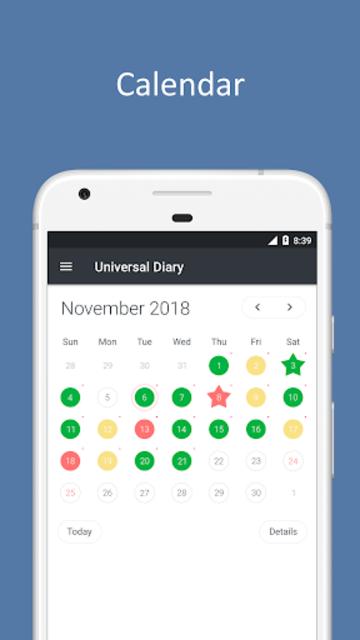 Universum - Diary, Journal, Notes screenshot 7
