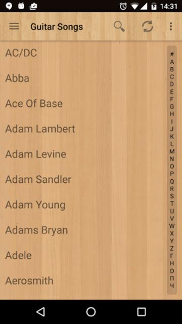 Guitar Songs Pro screenshot 1