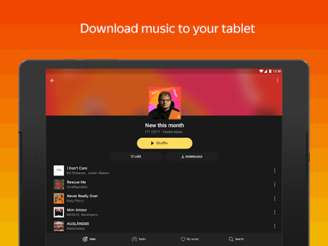 Yandex Music and podcasts — listen and download screenshot 10