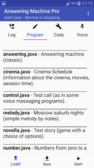 Answering Machine Pro screenshot 2