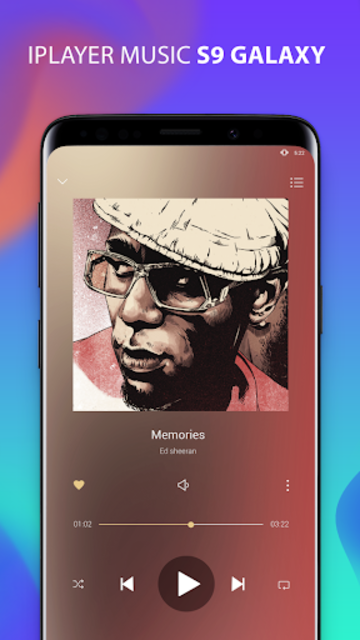 S9 Music Player - Mp3 Player For S9 Galaxy screenshot 3
