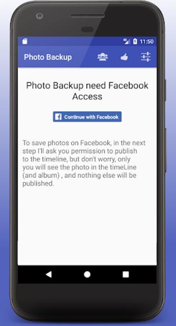 Photo Backup screenshot 5