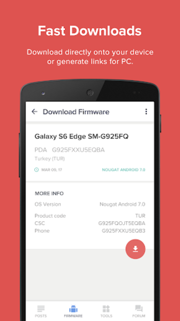 Updates for Samsung - Android Update Versions screenshot 3