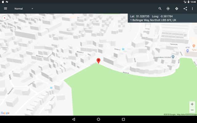 Map Coordinates screenshot 20