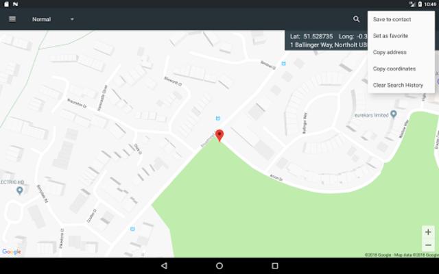 Map Coordinates screenshot 21