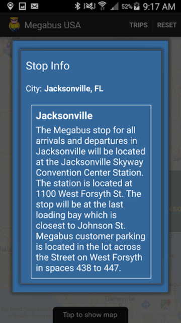 Megabus USA screenshot 5