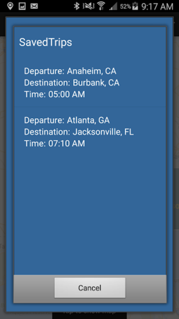 Megabus USA screenshot 6