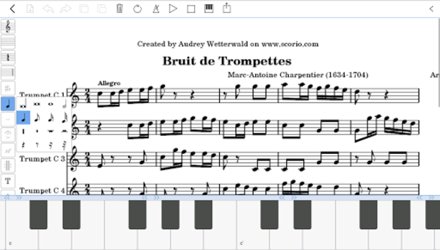 scorio Music Notator screenshot 3