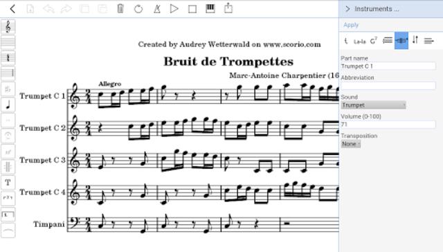 scorio Music Notator screenshot 4