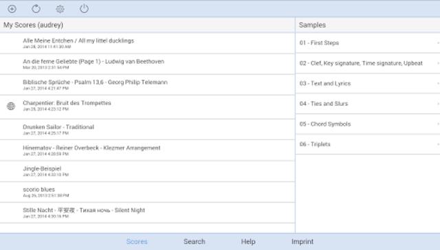 scorio Music Notator screenshot 5
