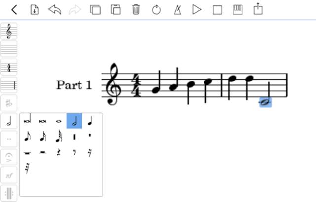 scorio Music Notator screenshot 9