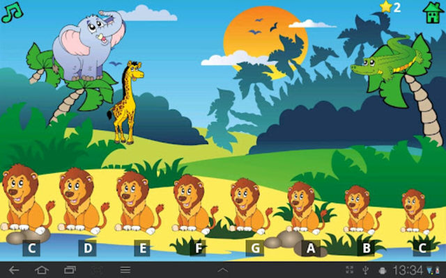 Kids Fun Animal Piano Free screenshot 1
