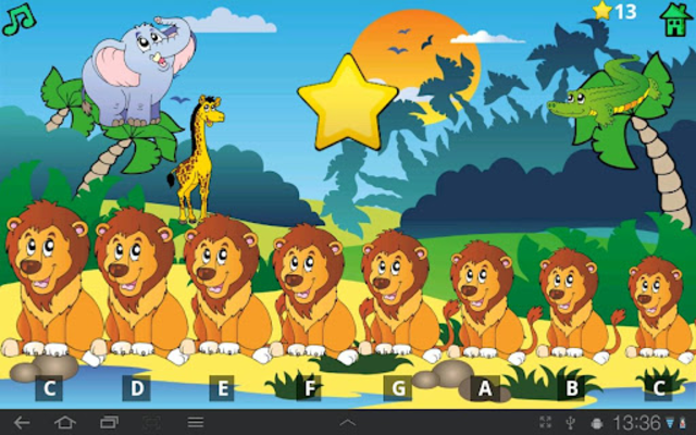 Kids Fun Animal Piano Free screenshot 7