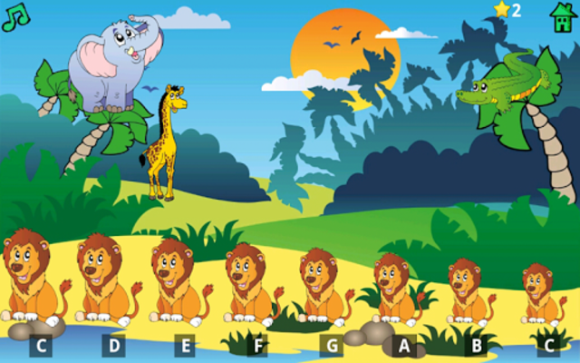 Kids Fun Animal Piano Free screenshot 17