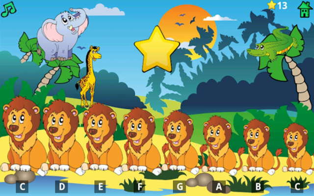 Kids Fun Animal Piano Free screenshot 23