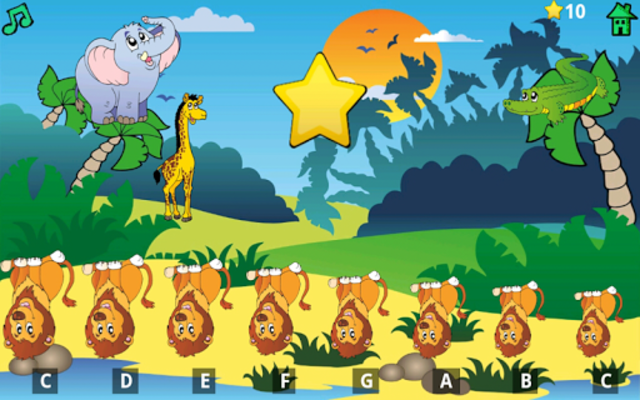 Kids Fun Animal Piano Free screenshot 16