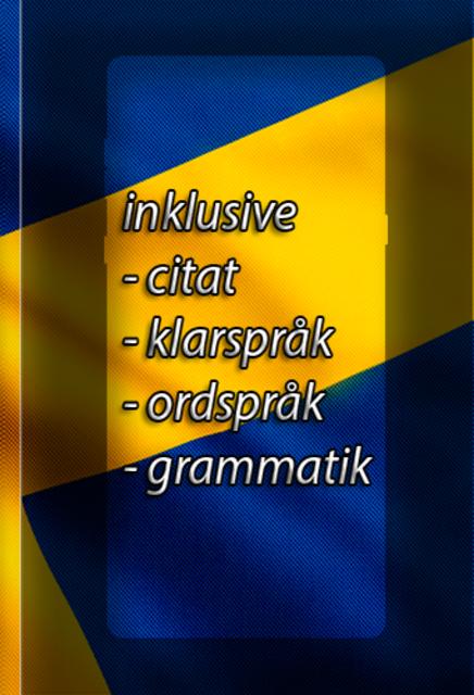 Svenska Synonymer - hitta dina synonymer enkelt ! screenshot 2