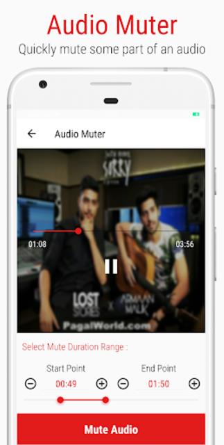 Mstudio: Play,Cut,Merge,Mix,Record,Extract,Convert screenshot 5