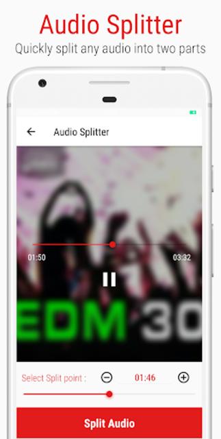 Mstudio: Play,Cut,Merge,Mix,Record,Extract,Convert screenshot 6