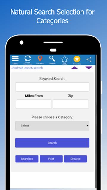 Simple Craigslist Classified Listings Mobile screenshot 1
