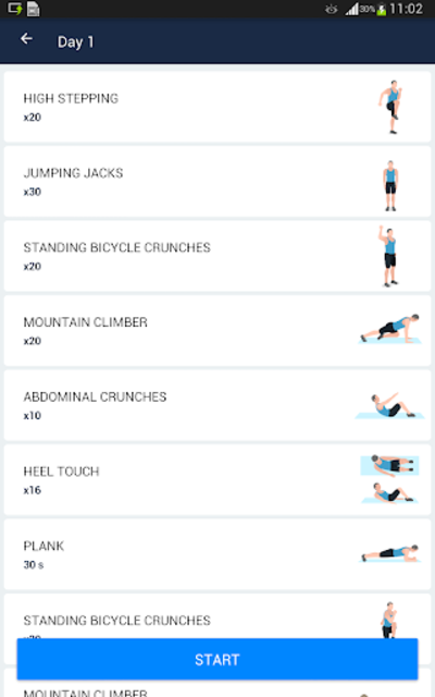 Six Pack in 30 Days - Abs Workout screenshot 9