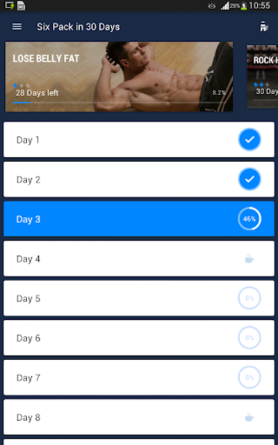 Six Pack in 30 Days - Abs Workout screenshot 12