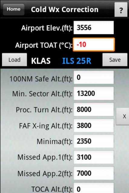 FlyBy E6B screenshot 4