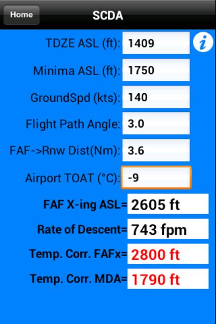 FlyBy E6B screenshot 5