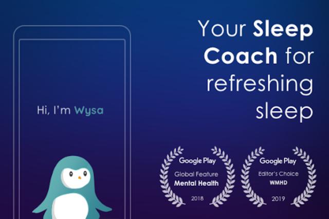 Sleep by Wysa - sleep stories for deep sleep screenshot 1