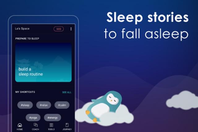 Sleep by Wysa - sleep stories for deep sleep screenshot 2