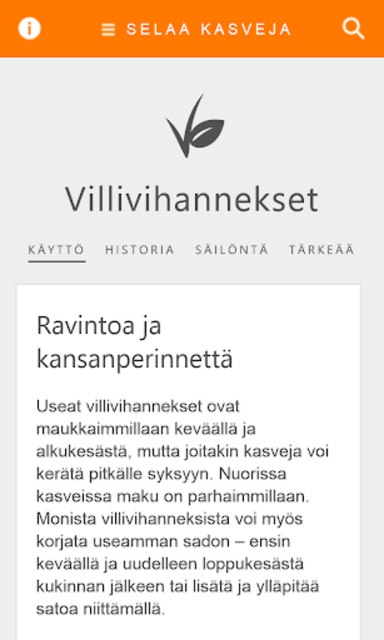Villivihannekset screenshot 6